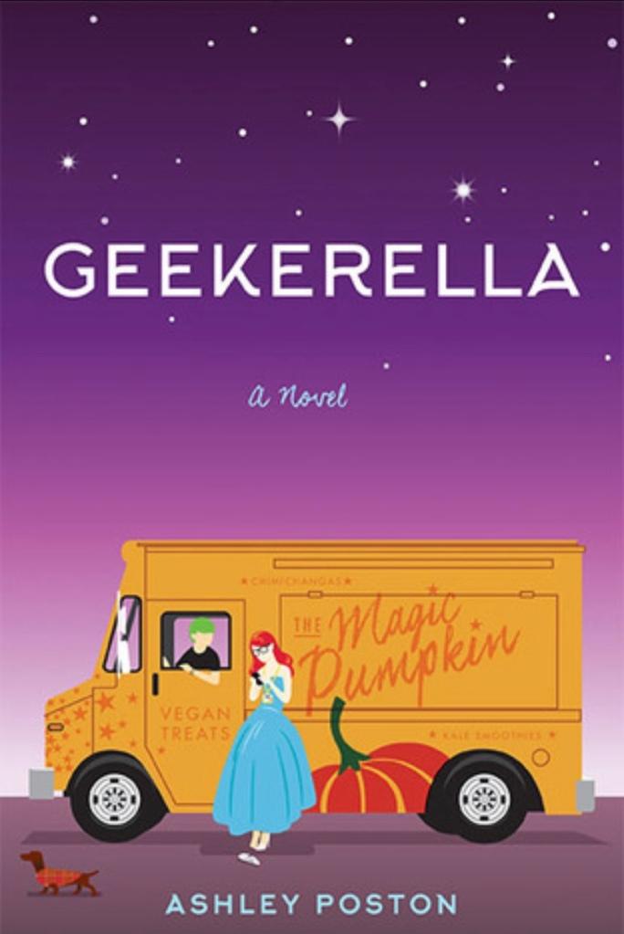 geekerella book by Ashley poston